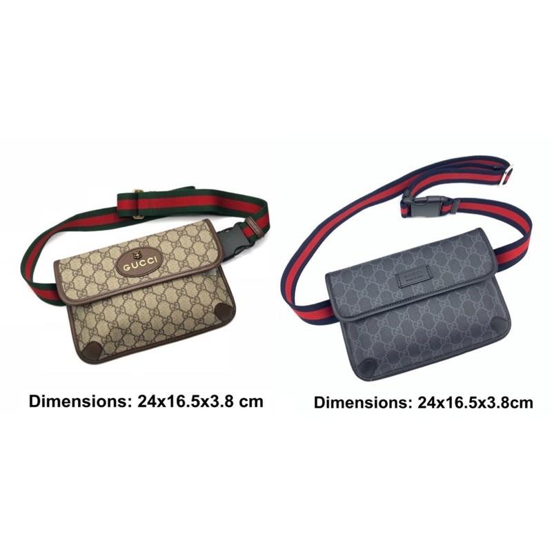 Gucci GG neo belt bag กระเป๋า กุชชี่ คาดอก ของแท้ ส่งฟรี EMS ทั้งร้าน