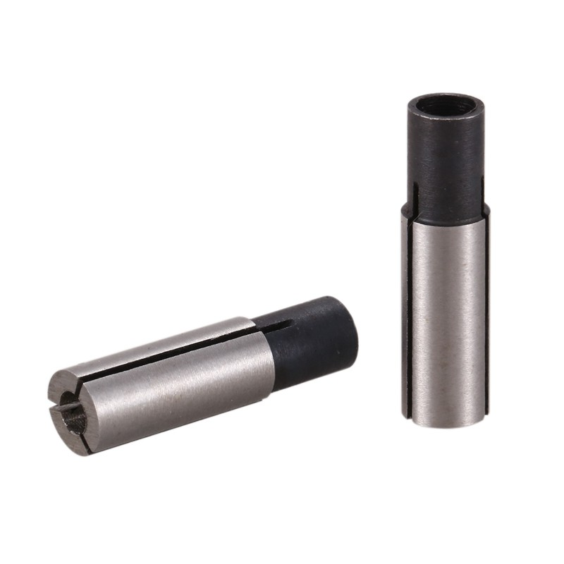 """5x 1//4/"""" to 1//8/"""" Engraving Machine Tool Convertr Bit CNC Router Tool Adapter"""