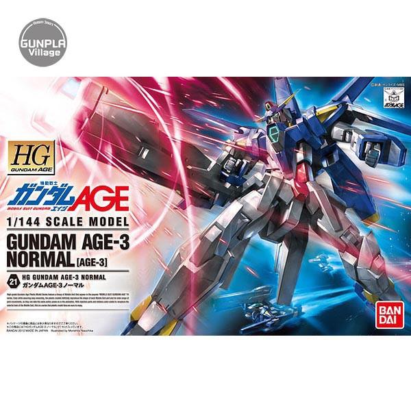 Bandai HG Gundam AGE-3 Normal 4573102573865 (Plastic Model)