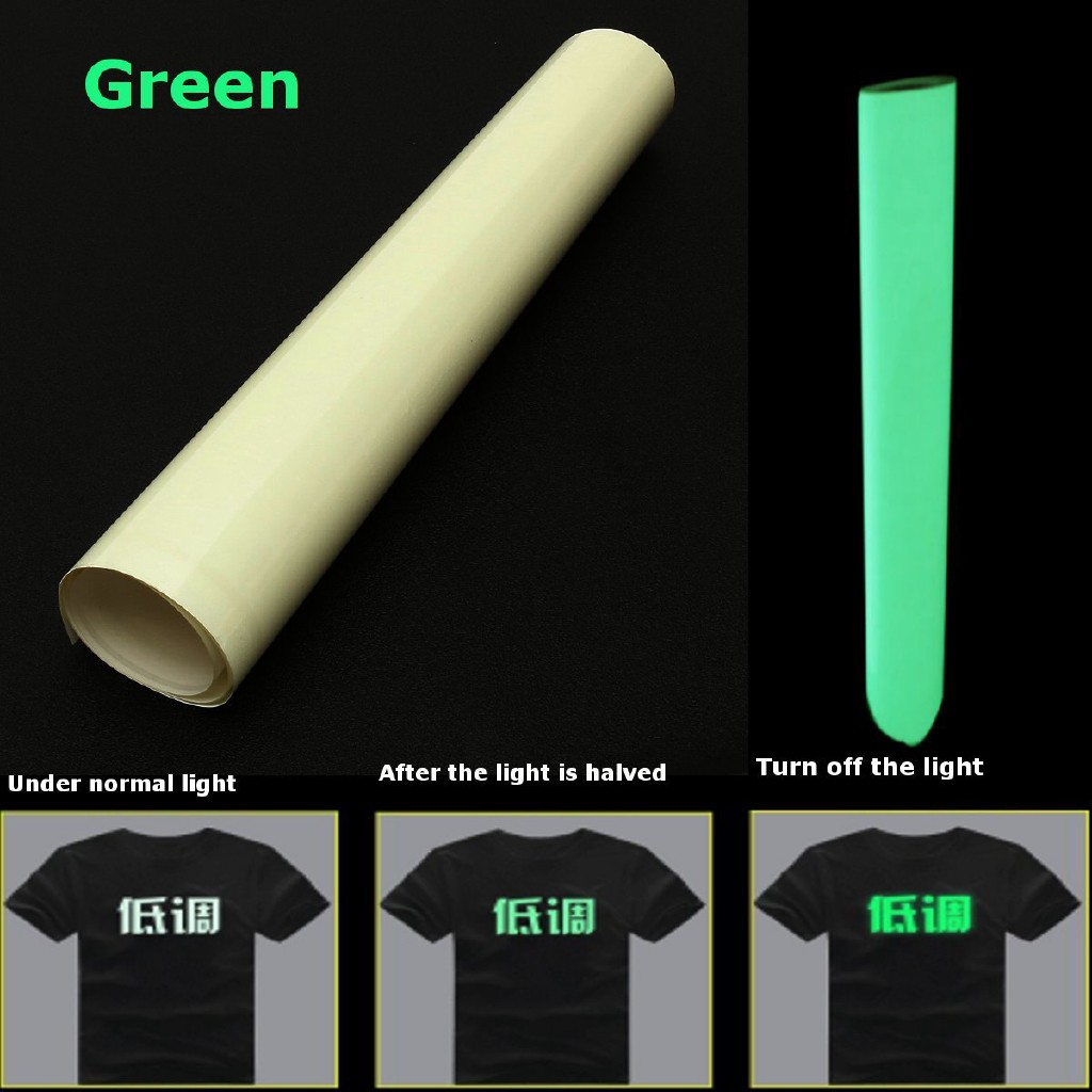 Glow In The Dark T-shirt Film Garment Vinyl Heat Press Vinyl Transfer