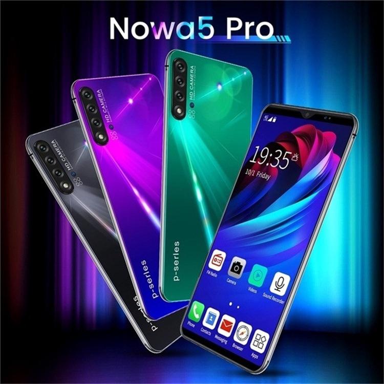 สมาร์ทโฟน Nowa 5 Pro 6 . 1 นิ้ว 3 G 6+128 Gb Mtk 6595 Android
