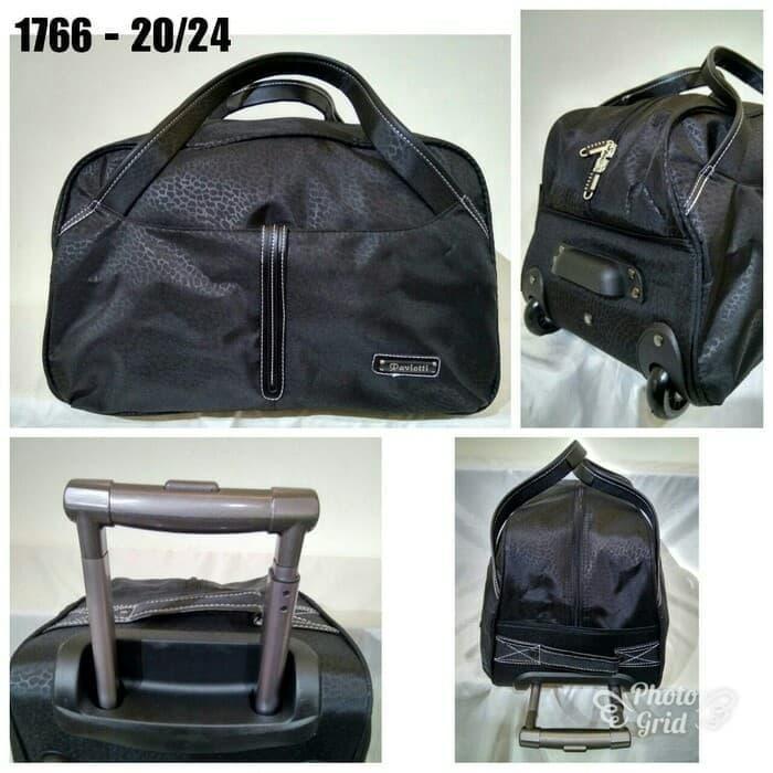 กระเป๋าเดินทางกระเป๋าเดินทางความจุ 24 นิ้วสีดํา