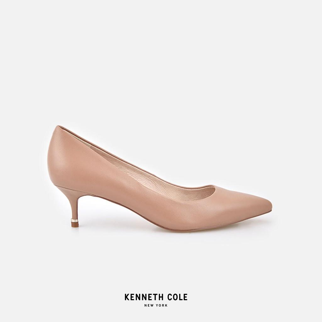 Kenneth Cole รองเท้าทำงานทรงคัชชูส้นสูง สีน้ำตาลอ่อน รุ่น RILEY 50 PUMP