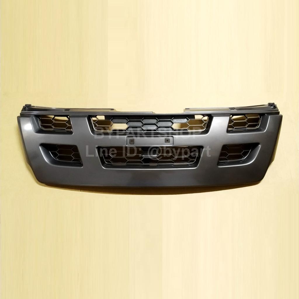 กระจังหน้า ISUZU D-MAX(ดีแม็ก) 4WD สีดำ ปี2005-2006 (งานไม่ทำสี)