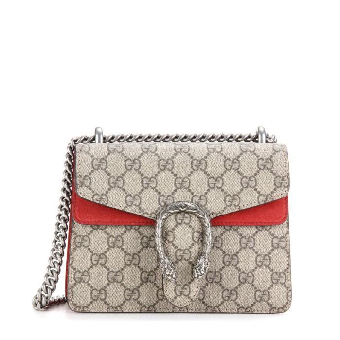 กระเป๋า GUCCI 421970 Dionysus GG Supreme Mini Chain Strap Bag