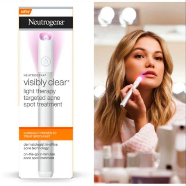 ส นค าใหม ของแท Us ม ใบเสร จ Neutrogena Light Therapy Acne Spot