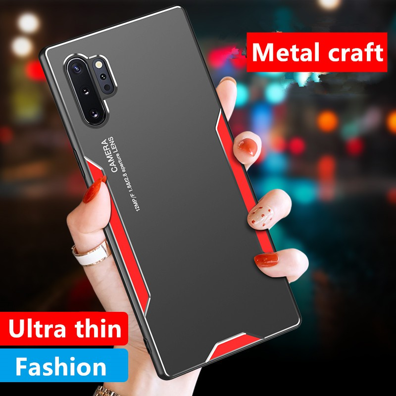 Case Samsung NOTE 20 Ultra NOTE 10 PRO NOTE 9 NOTE 8 a71 a51 Simple and stylish metal phone case a6ME
