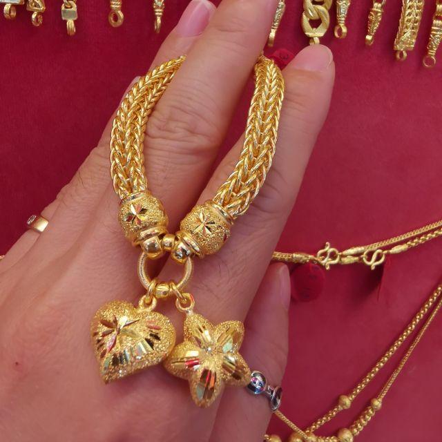 สร้อยมือทอง 96.5%  หนัก 2 บาท ยาว 16.5-18cm ราคา 55,800บาท