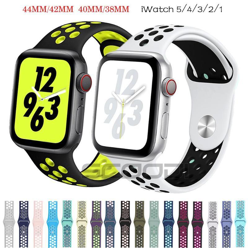 รองเท้าผ้าใบ Nike Respir Vel Para Apple Watch Series 5 / 4 / 3 / 2 / 1 38 มม . 44 มม . /
