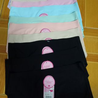 กางเกงในไร้ขอบเต็มตัวฟรีไซด์7สี(เลือกสีได้)