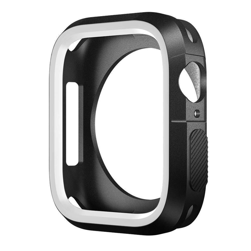applewatch series 6 สาย applewatch เคสกันกระแทก แอปเปิ้ลวอช ซีรี่ส์ 4 / 5 / 6 / SE ขนาด 40 มม.  Case For Apple Watch Ser