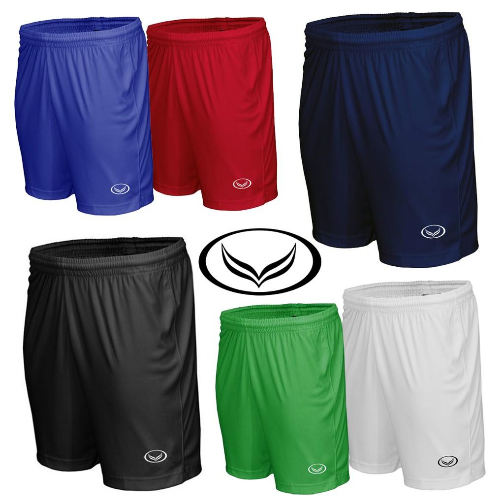 กางเกง กีฬา Grandsport กางเกง แกรนด์สปอร์ต ขาสั้น ฟุตบอล ฟิสเนส เอวยางยืด วิ่ง ออกกำลังกำลังกาย ของแท้ สั่งตรงจากบริษัท