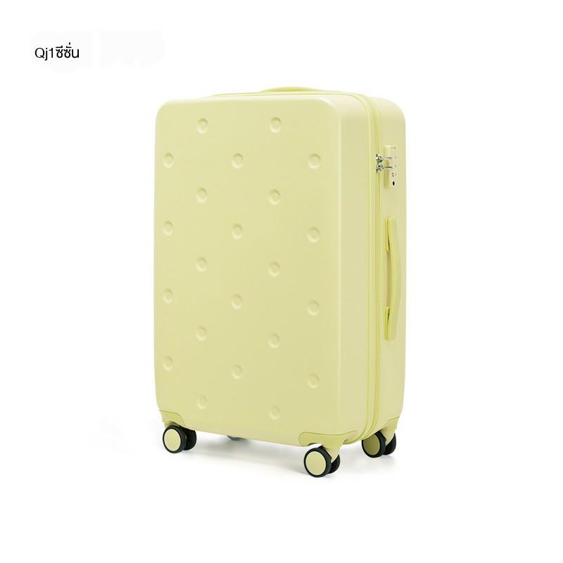 ✜ஐAji trolley case universal wheel 20 inch small น้ำหนักเบาขึ้นเครื่องกระเป๋าเดินทางหญิง 24 นิ้วเล็กสดชายกระเป๋าเดินทาง
