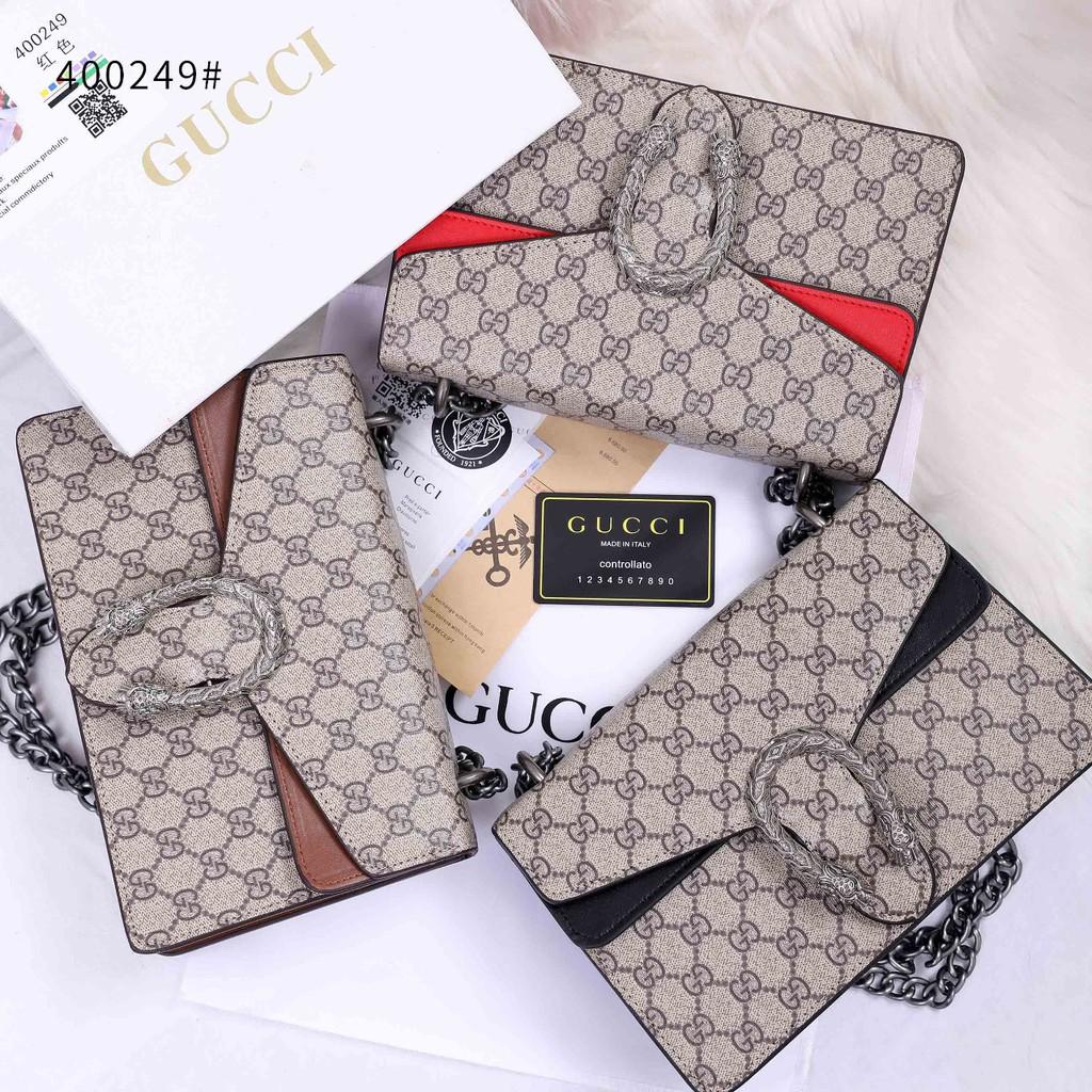 Gucci Dionysus กระเป๋าสะพายไหล่สําหรับสตรี 400249 (r)