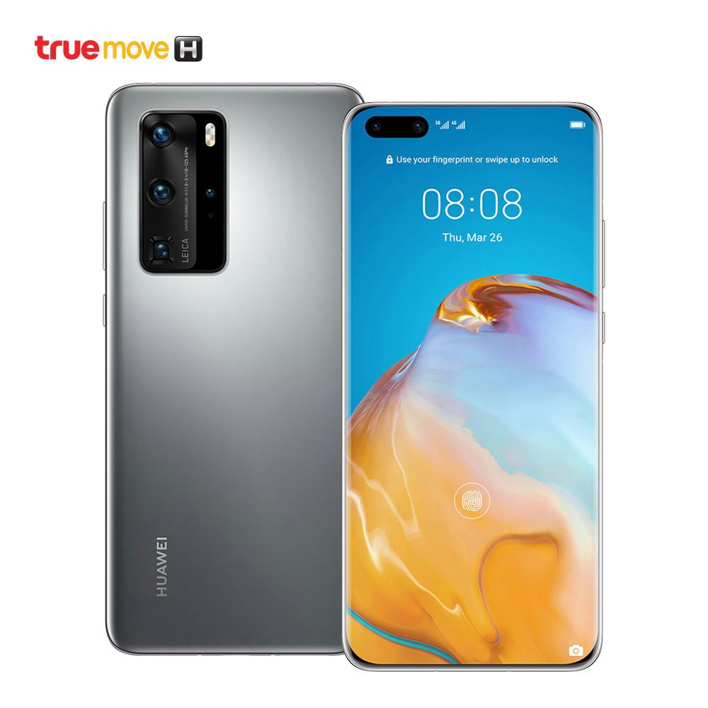 Huawei สมาร์ทโฟน รุ่น P40 Pro 5G - Silver