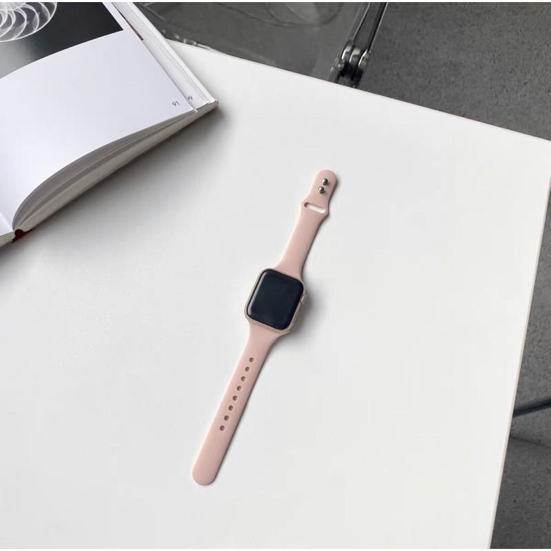 *READY STOCK* พร้อมส่ง‼️สายสำหรับ AppleWatch สีมาใหม่ series 6 5 4 3 2 1 สำหรับ applewatch ขนาด  42mm 44mm 38mm 40mm lr2