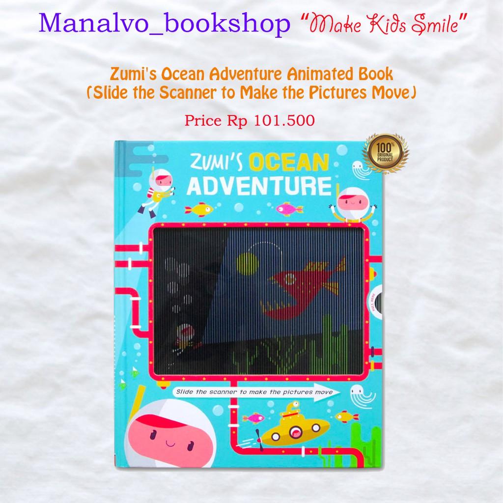 Zumi ' S Ocean Adventure Animated Book Import (slide The Scanner ของเล่นสําหรับเด็ก