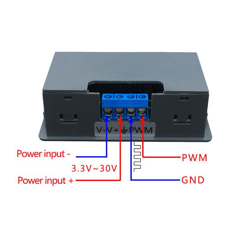 3 Channel Signal Generator PWM Pulse Frequency Duty Cycle Adjustable Module