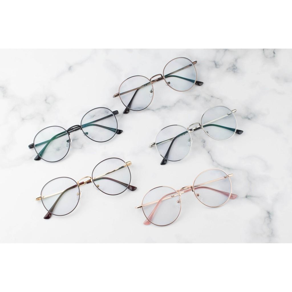 #แว่นสายตาสั้น #แว่นกรองแสง-กรอบแว่นสีดำทอง ราคาถูก 250บาท n2bT