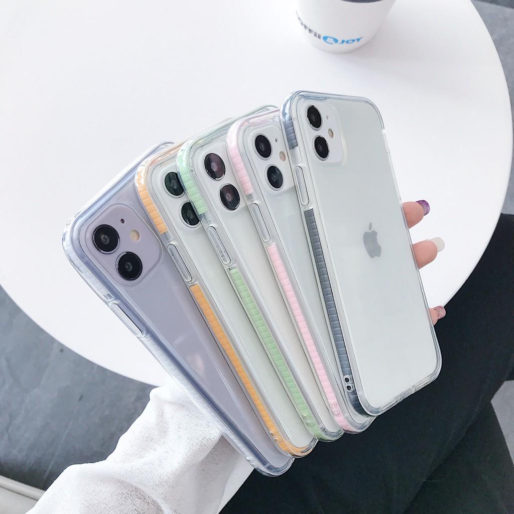 เคสซิลิโคน สำหรับ iphone 11  pro max 7 8 apple 7P plus case XSMAX XR Xs 6s เคสโทรศัพท์มือถือสองสี