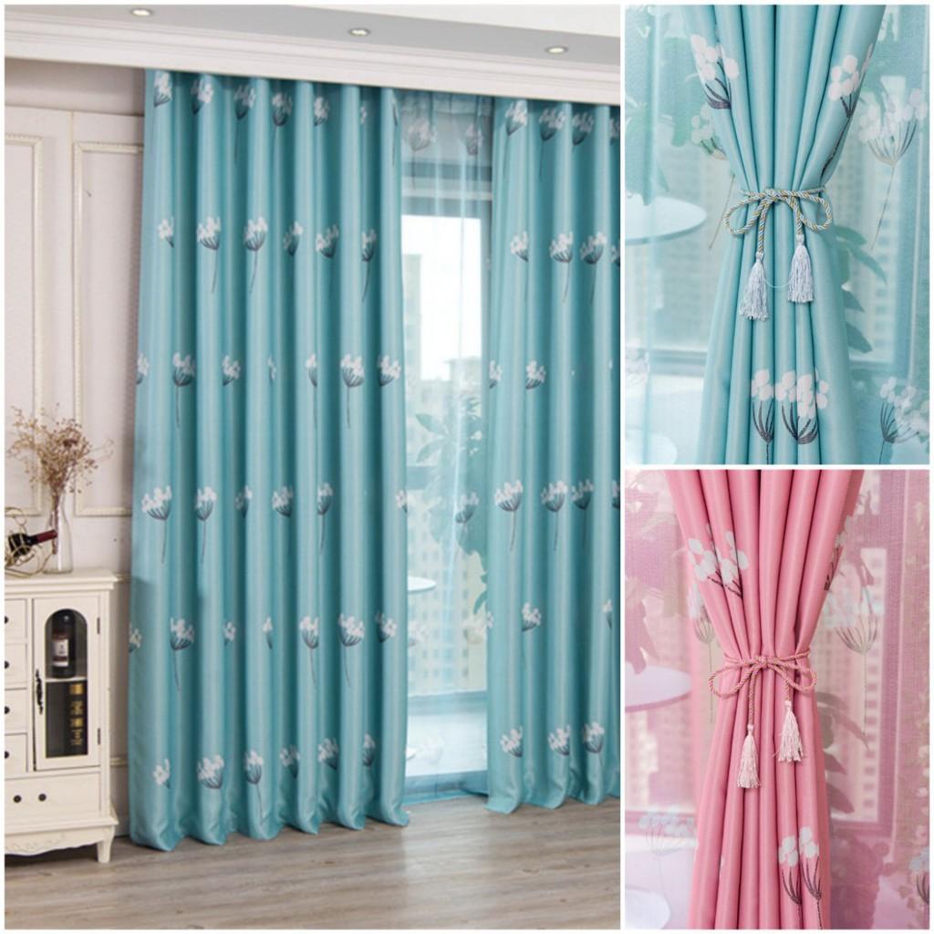 ผ้าม่านหน้าต่าง ผ้าม่านประตู สำเร็จรูป ผ้าม่านกั้นห้อง กันแสง ผ้าหนา ตาไก่ CS3