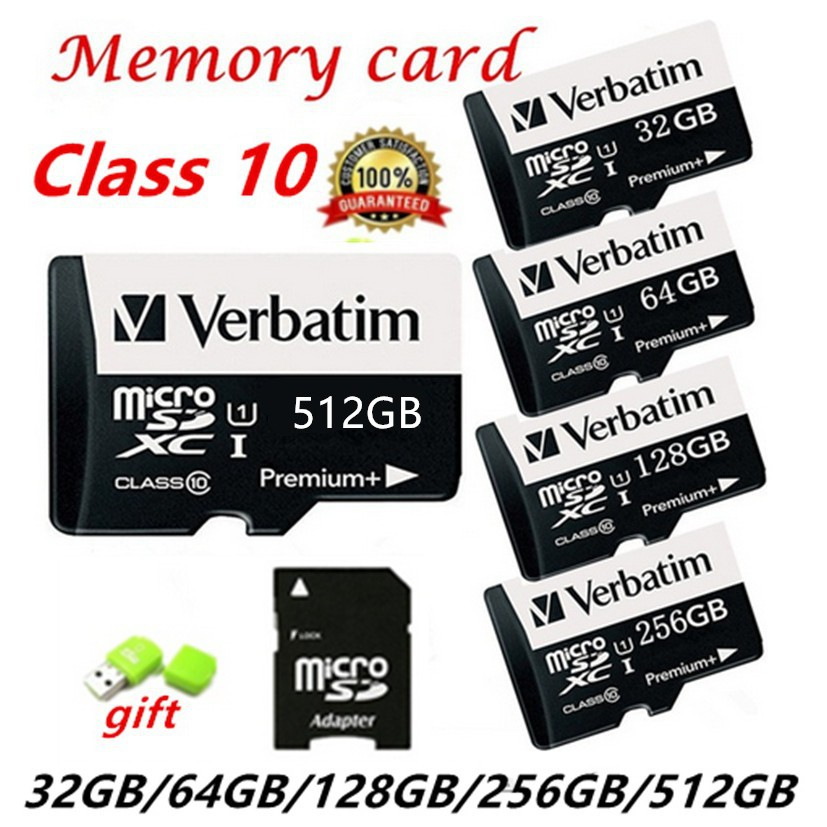 Hot!! 2018 New 128MB 32GB 64GB 128GB 256GB 512GB Micro SD MicroSDHC Micro SD