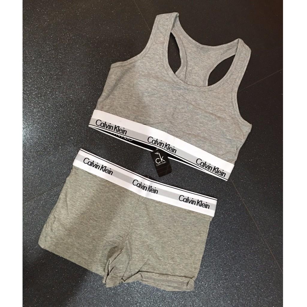 e46f6f96ff2 ... sport bra เสื้อชั้นใน กางเกงใน ชุดชั้นใน CK สปอร์ตบรา CALVIN KLEIN  UNDERWEAR ...
