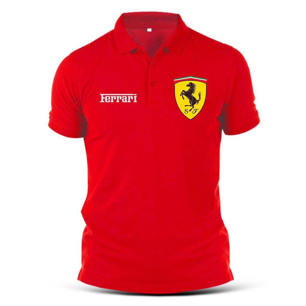 เสื้อโปโลสำหรับผู้ชาย Ferrari