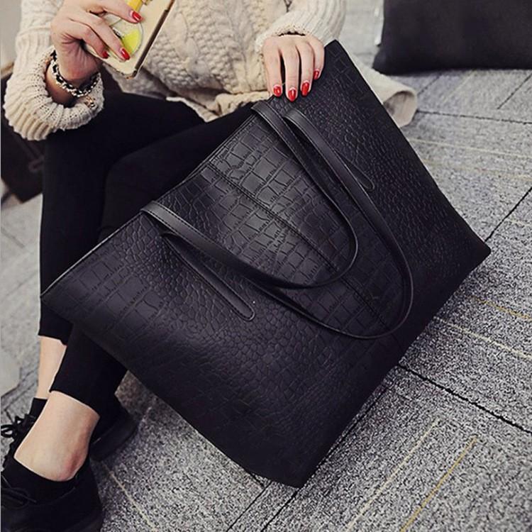 ┇♛✕กระเป๋า 2020 ใหม่หญิงกระเป๋าหินรูปแบบความจุขนาดใหญ่กระเป๋าสะพายแฟชั่นกระเป๋าถือลำลองขนาดใหญ่กระเป๋าเดินทาง