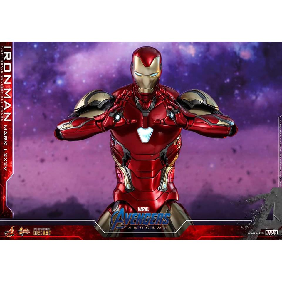 ใบจอง HOT TOYS -​ IRON MAN MARK 85 : AVENGERS​ ENDGAME​