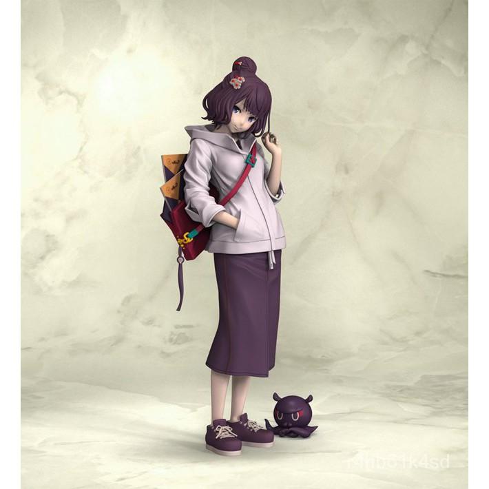 Resin Figure Kit 1/8 Fate FGO Katsushika Hokusai Unainted Garage Resin Kit#¥%¥# GnNR