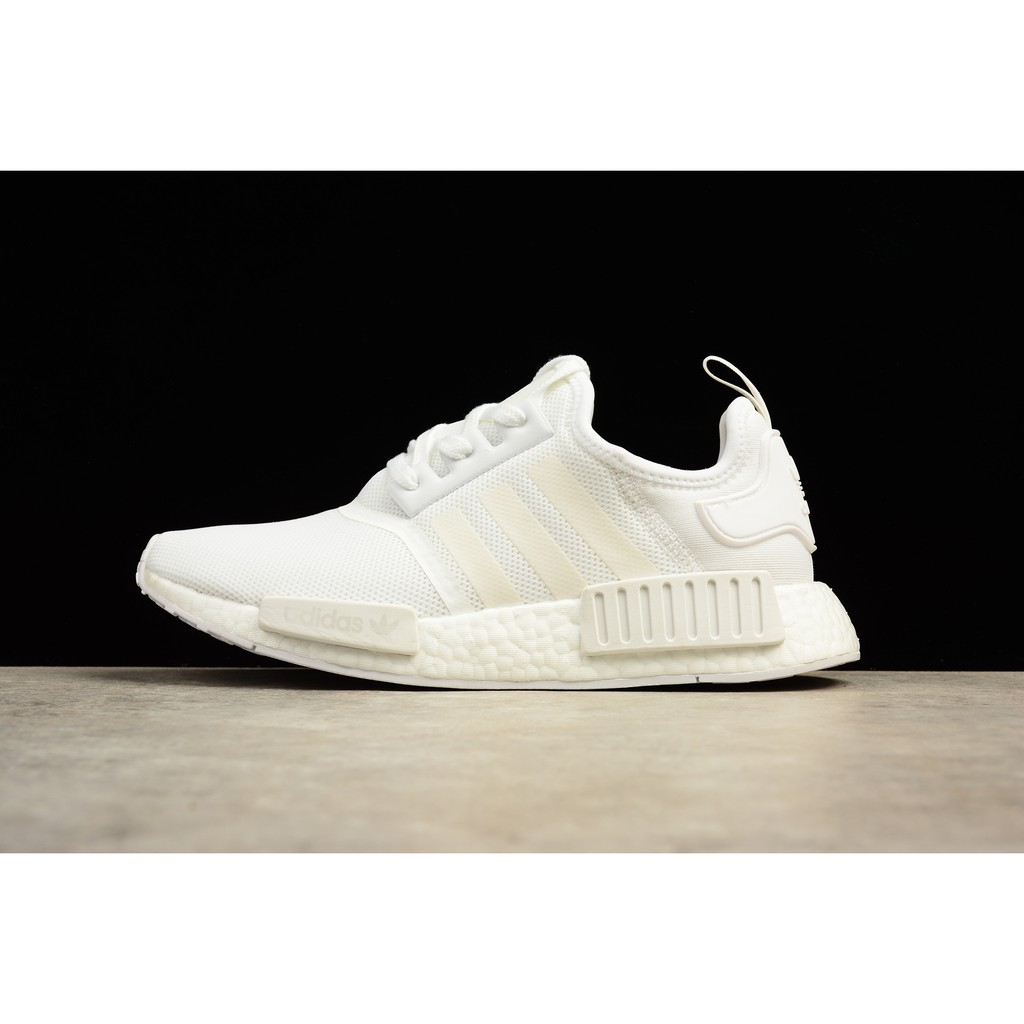 d4f4cf8be Adidas NMD all-white BA7245 men s and women s shoes