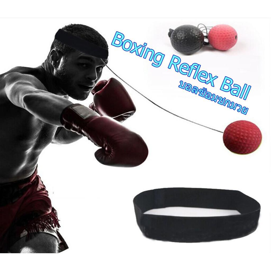 Sports Box Punch Exercise Fight Ball For Reflex Speed Training MMA Kickboxing ne