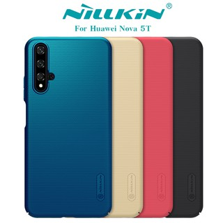 Review NILLKIN เคส Huawei Nova 5T / Honor 20 รุ่น Super Frosted Shield