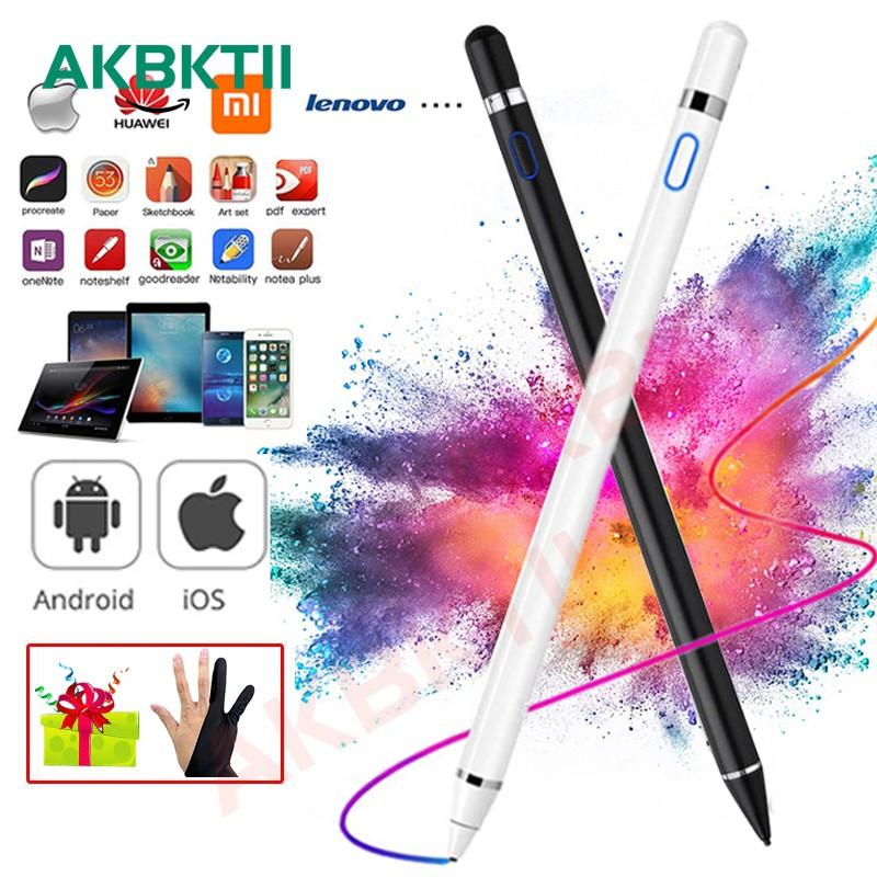 ปากกาสไตลัส akbktii stylus สําหรับ apple ipad pro ipad 10 . 2 air 3 mini 4 5