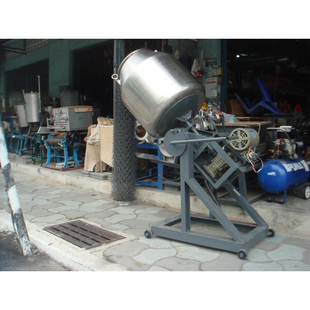 เครื่องคั่วถั่ว คั่วกาแฟ คั่วมะพร้าว คั่วพริกแห้ง ขนาด 25นิ้วx28นิ้ว พร้อมมอเตอร์ 0.5 HP.