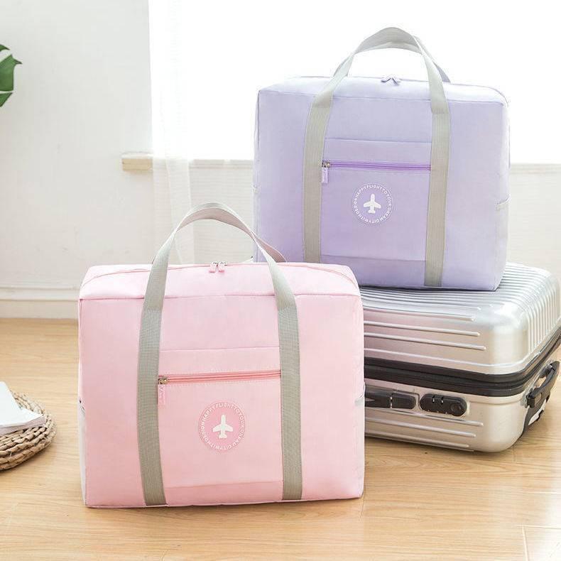 ❧กระเป๋าเดินทาง กระเป๋าเดินทาง กระเป๋าล้อลาก กระเป๋าเดินทาง กระเป๋าเดินทาง ความจุขนาดใหญ่ กระเป๋าสะพายข้าง แบบพับได้ กระ