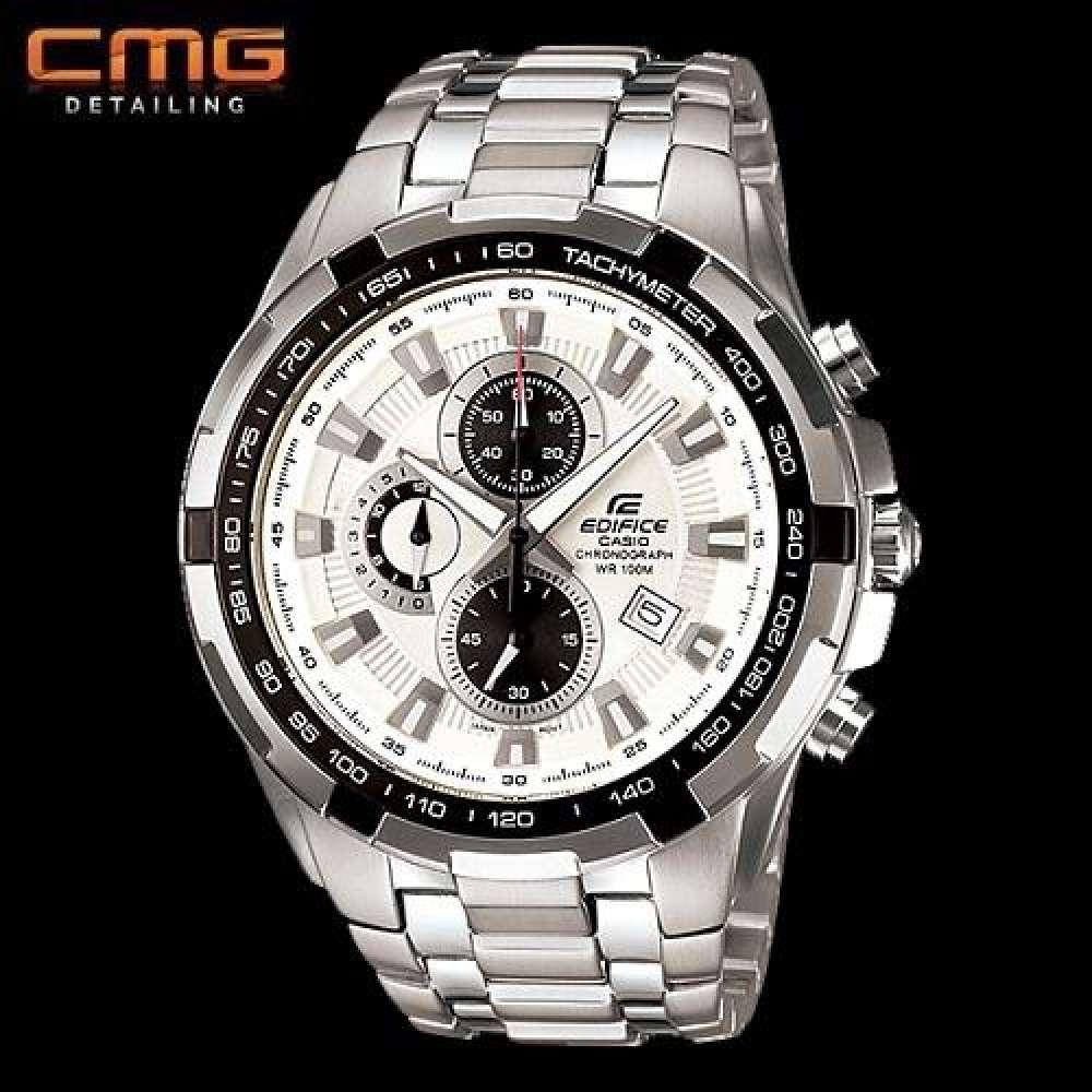 Casio Edifice นาฬิกาข้อมือผู้ชาย สายสแตนเลส EF-539D-7AV