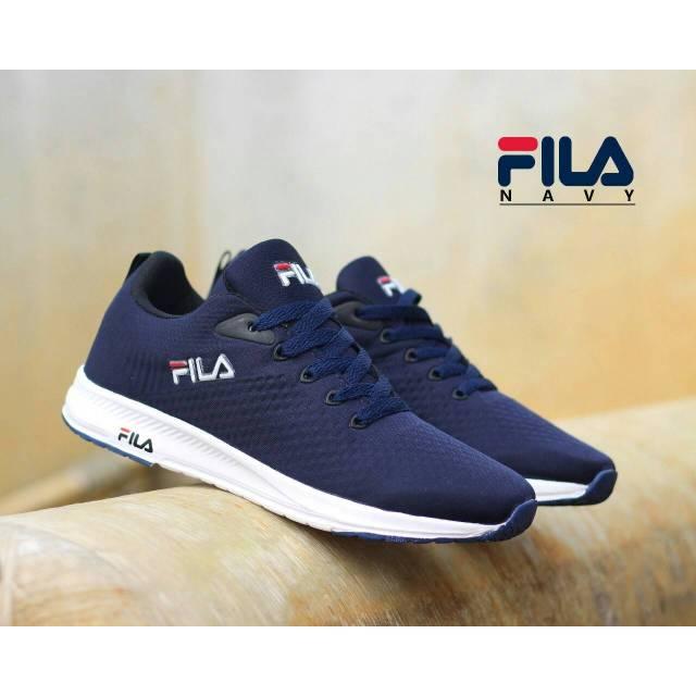 Skecher Fila รองเท้าวิ่งรองเท้ากีฬาแฟชั่น