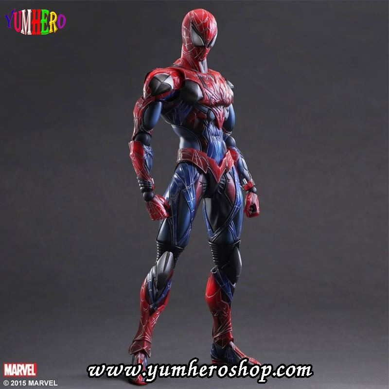 Variant Play Arts Kai Marvel Universe Spider-Man PVC Action Figure New In Box