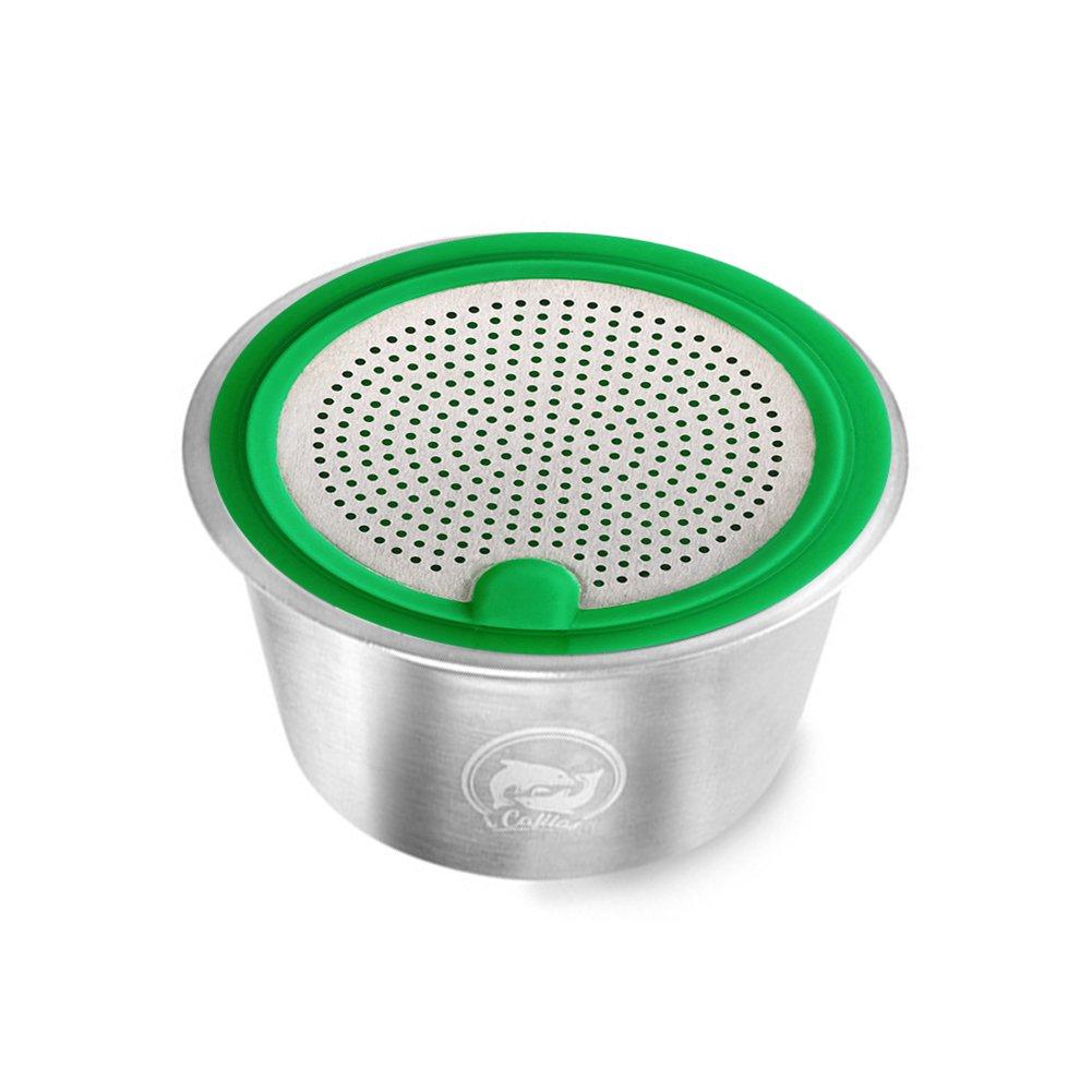 แคปซูลกาแฟเติมถ้วยกรองสำหรับ Dolce Gusto เครื่องทำกาแฟเครื่อง Reusable คอนเทนเนอร์ชุดตะกร้า