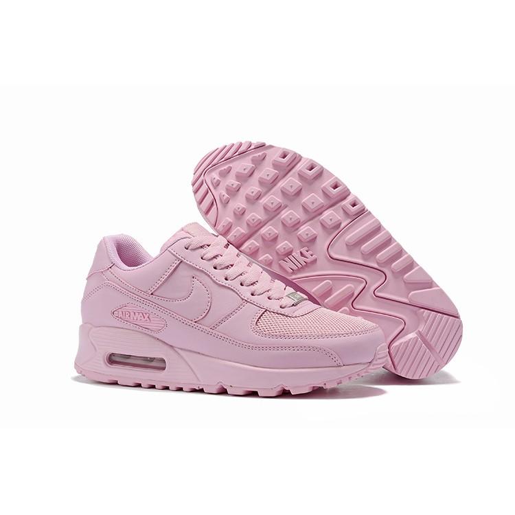 แท้ Nike Air Max 90 สีชมพู ระบายอากาศได้ รองเท้าผู้ชายและผู้หญิง รองเท้ากีฬา รองเท้าลำลอง รองเท้าวิ่งYOU-800