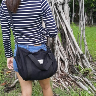 Review -🆕middle duffle dark tone