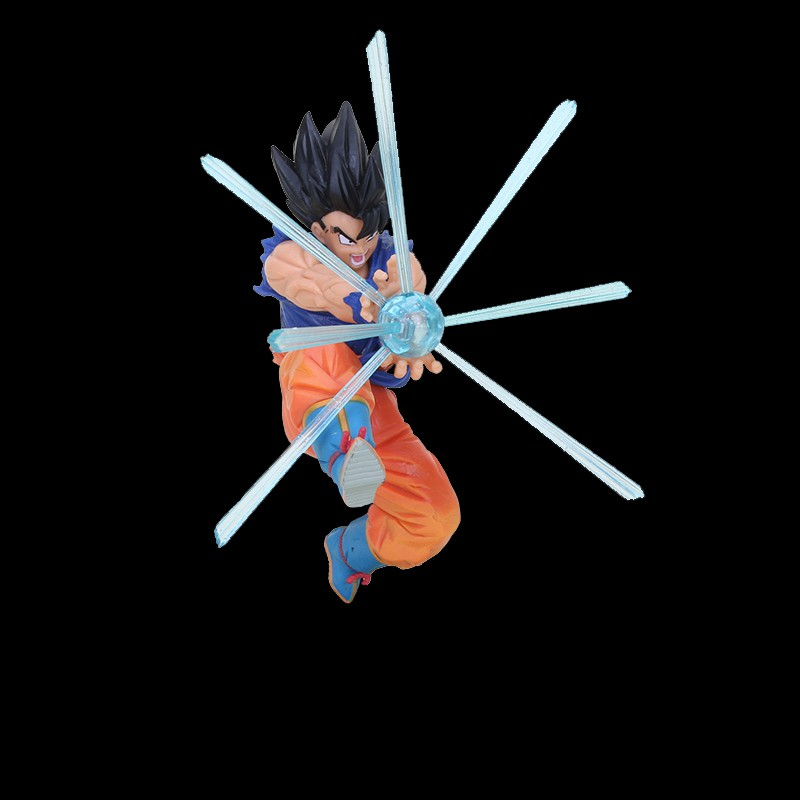 23cm Son Goku Dragon Ball Figure Son Goku Gokou Kamehameha G materia BPT Quality dragonball z figures Collection Model T