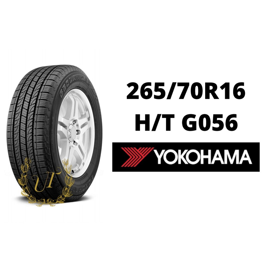 ยางรถยนต์ YOKOHAMA GEOLANDAR HT G056 Size 265/70 R16