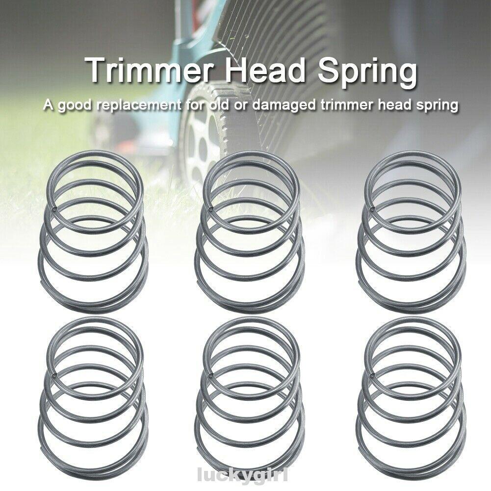 Grass Trimmer Head Bump Knob Metal Springs Brush Cutter Garden Tool Parts 5Pcs