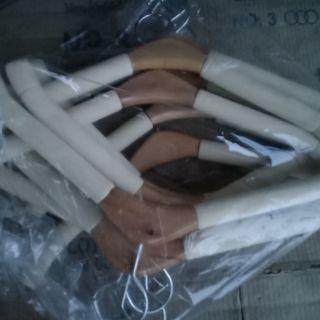 ไม้แขวนเสื้อไม้โฟมเซฟจัมโบ้x12