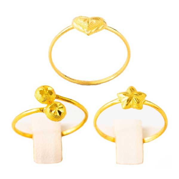 [ทองคำแท้] LSW แหวนทองคำแท้ 0.6 กรัม ราคาพิเศษ มาพร้อมบัตรรับประกัน (FLASH SALE 3)