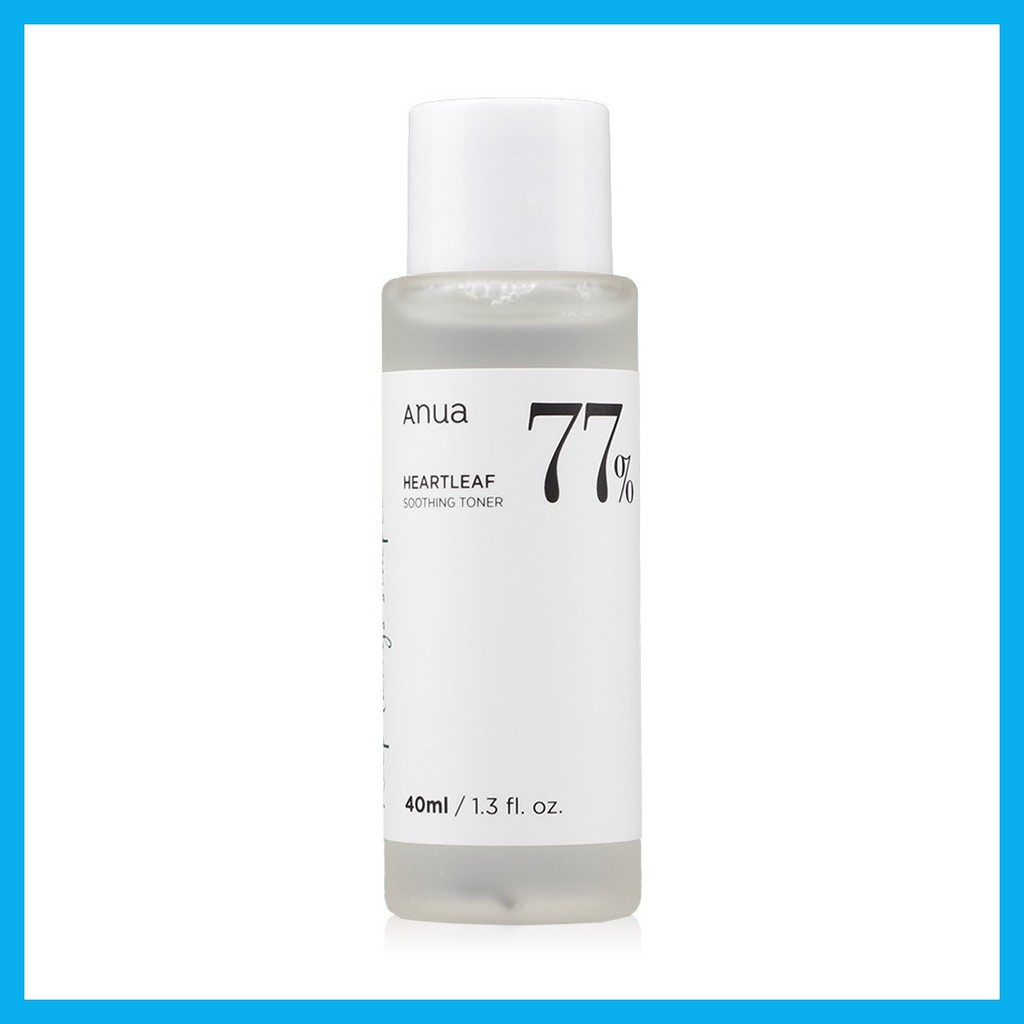☽☇ANUA Heartleaf 77% Soothing Toner 40ml.