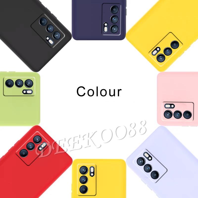 เคสโทรศัพท์ OPPO Reno6 Z 5G / Reno6 5G Casing TPU Silicone Softcase Back Cover เคส OPPO Reno 6 6Z 5G Cases